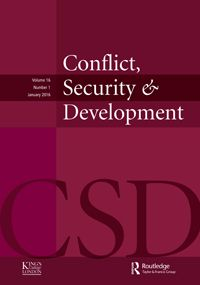(2016). Empowering peace: service provision and state legitimacy in Nepal's peace-building process. Conflict, Security & Development: Vol. 16, No. 1, pp. 53-73. doi: 10.1080/14678802.2016.1136138