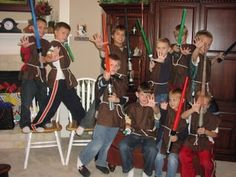 Star Wars party, Jedi Training Academy - lists for games, food, and invitation printable - Tip Junkie