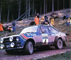 Hannu Mikkola (Ford Escort RS 1800) 1er du RAC 1979 - L'Automobile mars 1979.