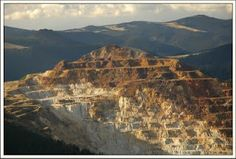 Cariera de sulf de la Retitis, Muntii Calimani. Romania, Grand Canyon, Mystery, Mountains, Places, Destinations, Travel, Lugares, Trips