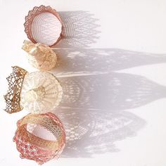 upcycled doilies crochet