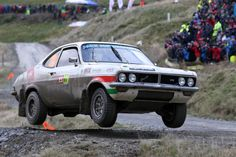Vauxhall Firenza Can-Am rally car - Rally Wales GB