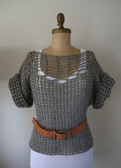 Category - Beautiful: Summer Sweater... Crochet DIY