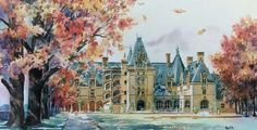 Ann Vasilik, local water color artist, captures the beauty and warmth of fall at Biltmore with her gorgeous painting.  Click here to get your own: http://biltmo.re/5tf19