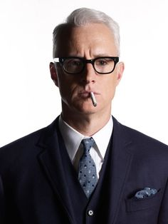 Mad Men Hairstyles Men Beauteous John Slattery As Roger Sterling Mad Menpretty Pretty Pretty Cool