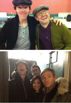 This is why #BenedictCumberbatch and #MartinFreeman are so good together on #Sherlock...