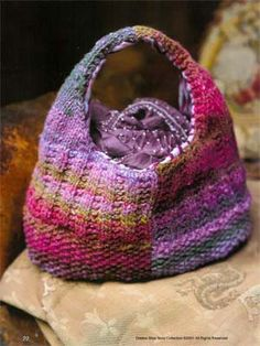 Knitting Patterns Galore - Iro Bag