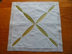 """Cathedral Window pictoral tutorial   Aguja, Dedal, Tijera: 6º BLOQUE """"SAL DE PLEGADOS"""""""