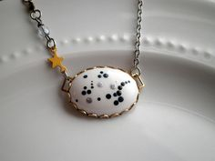 Hey, I found this really awesome Etsy listing at https://www.etsy.com/listing/272330036/modern-space-necklace-enamel-dot-galaxy