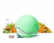 Fresh Mandarin Herb Bath Bomb
