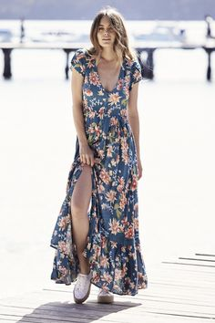 efc0a922b3e3 Jaase Tuscan Escape Carmen Maxi Dress Simple and cute, a gorgeous and easy  to wear