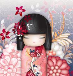 Kokeshi doll ~ Image du Blog isalicia.centerblog.net (pmw re-pinned 8-15-16)