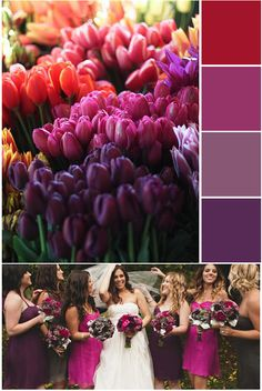 Ruby + Swallow: Weddings: Jewel Tones