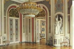 Christiansborg Palace, Abildgaard  Hall. Copenhagen, Denmark