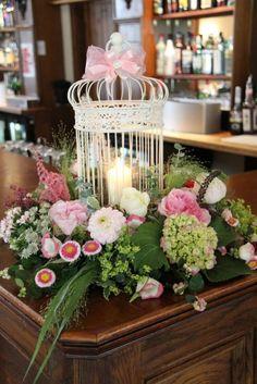 bird cage centerpiece | bird-cage-bar-design-wedding-centerpieces-and-reception-decor ...