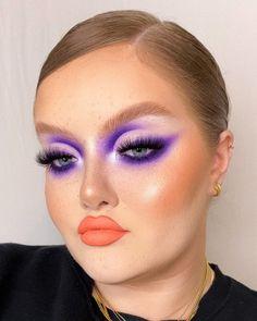 Eye Makeup Art, Glam Makeup, Pretty Makeup, Makeup Inspo, Makeup Inspiration, Alternative Makeup, Makeup Goals, Creative Makeup, Colorful Makeup