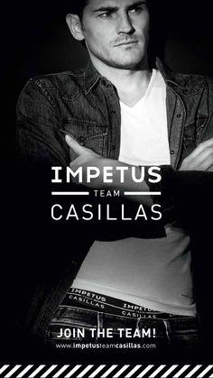 Impetus Team Casillas: el portero Iker Casillas presta su imagen para crear una linea de calzoncillos y pijamas. ¿Te gusta la colección? Cómpra ahora sus artículos ne http://www.varelaintimo.com/marca/34/impetus