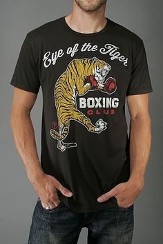 EYE OF THE TIGER BOXING