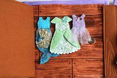 Handmade quiet book Dollhouse, busy book for girl, Развивающая книжка Кукольный домик, шкаф с карнавальными костюмами