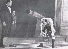 """peashooter85: """" What Happens When You Imprison an Old Timey Strongman, Born in 1888 in Lithuania, then part of the Russian Empire, Alexander Zass was an old time strongman circus performer who is now..."""