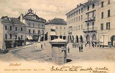 1900 Mondovì (Cuneo) Piazza Maggiore Caffè di Città