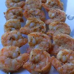 Grilled Cajun Shrimp....new favorite!  Have also used this marinade on Chicken