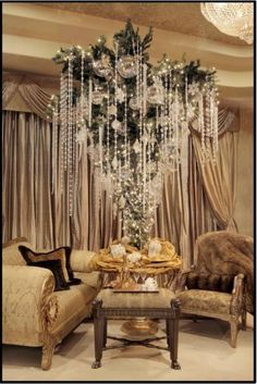 Upside down tree;