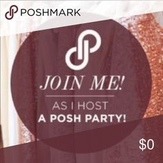 🎉🎉1/22/16 at 6pm 🎉🎉 I'm cohosting my first posh party!! Yay!! Dresses