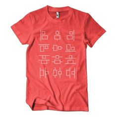 You know you're a design nut when you love this T-shirt.