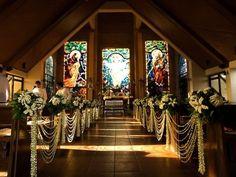 Homegrown: Filipiniana Wedding Theme – Cherryblossoms and Faeriewings Wedding Church Aisle, Church Wedding Decorations, Ceremony Decorations, Wedding Themes, Wedding Ceremony, Our Wedding, Dream Wedding, Wedding Blog, Themed Weddings