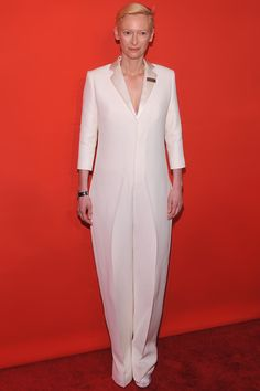 Tilda in Celine - French Vogue's look of the day