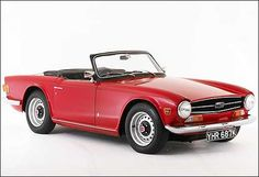 Triumph TR6  After a trio of Michelotti Triumphs, here's one styled by Karmann. Next stop: the TR7, for which nobody cast a single vote.