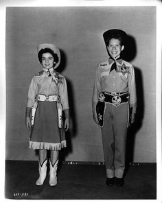 The Mickey Mouse Club - Annette Funicello and Bobby Burgess