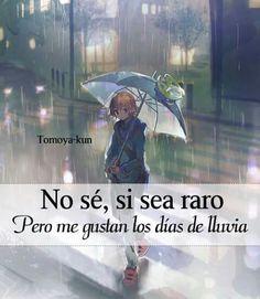 Creo k los días de lluvia sólo los días donde el cielo  acompaña mis lágrimas