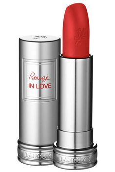 Lancôme Rouge In Love, $25, available at Nordstrom.