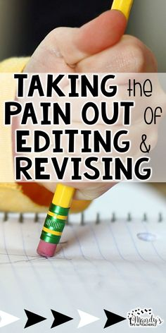 Tips for revising and editing with students