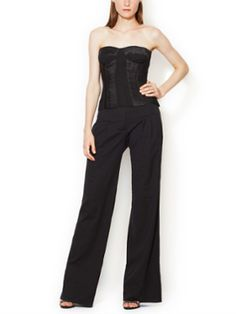Wool High Rise Wide Leg Pant from The Designer Vault Feat. J. Mendel: Up to 80% Off on Gilt