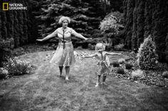 """Maja & Grandma"" Joanna Szymaska / National Geographic Your Shot"