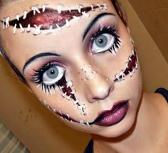50 Scary Halloween Makeup Ideas