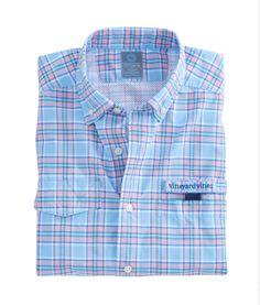 Vineyard Vines Wetlands Plaid Harbor Shirt - S Flannel Shirt, Plaid Shirts, Gents Shirts, Men Casual, Casual Wear, Sports Shirts, Mens Clothing Styles, Boy Outfits, Shirt Style