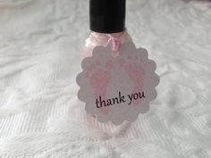 Nail Polish giveaways for girl shower