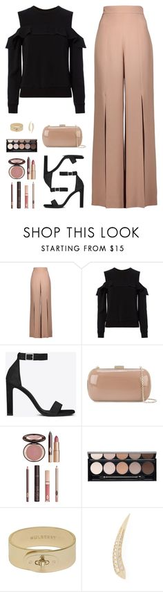 """Sin título #4482"" by mdmsb on Polyvore featuring moda, Cushnie Et Ochs, A.L.C., Yves Saint Laurent, Sergio Rossi, Charlotte Tilbury, Witchery, Mulberry y Carbon & Hyde"