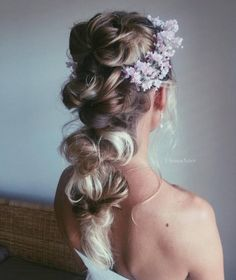 Ulyana Aster Romantic Long Bridal Wedding Hairstyles_22 ❤ See more: http://www.deerpearlflowers.com/romantic-bridal-wedding-hairstyles/