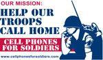 Donate your old cell phones to Cell Phones for Soldiers so that they can recycle then and buy calling cards for our troops overseas.