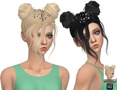 Nevaeh Hair Retexture at Simista via Sims 4 Updates
