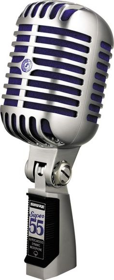 Shure Super 55 Dynamic Microphone on my wish list (nixt mix to buy!!)