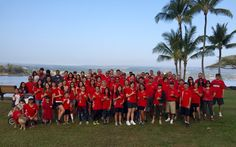 Our Hawaii Electric Light team out in force to support good heart health at the American Heart Association's 2016 Hilo Heart Walk! #Safety #Heart #Health
