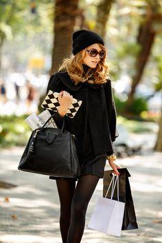 Lanidor FW2013 -Black is black, using black it's sinal of style.