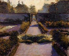 Gustave Caillebotte | The Kitchen Garden, Yerres