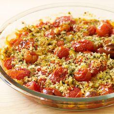 1 ProPoints // 1 SmartPoints            Préparation :10 min  Cuisson :35 min   Repos (ou autre) :0 min    Parts: 6                                Ingrédients         600 g Tomate, cerise        1 CS Huile d'olive